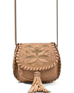 Jkalli Whipstitch Saddle Bag