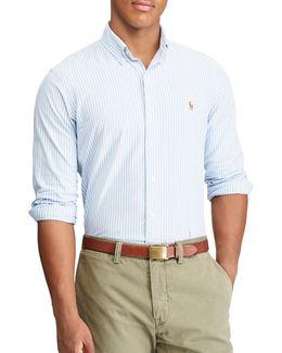 Standard Fit Striped Oxford Shirt