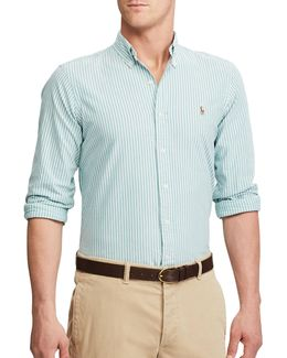 Standard Fit Striped Oxford Shirt