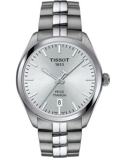 Analog T Classic Stainless Steel Bracelet Watch