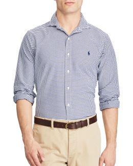 Standard Fit Gingham Oxford Shirt