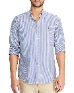 Standard-fit Striped Cotton Shirt