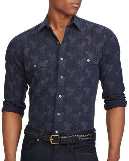 Standard-fit Cotton Work Shirt