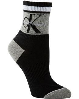 Jeans Logo Anklet Socks