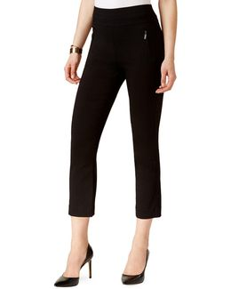Petite Petite Pull-on Cropped Pants