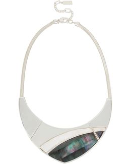 Mother-of-pearl Collar Necklace