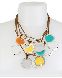 Colour Wheel Multi-row Necklace