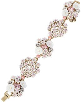 Flower Cluster Bracelet