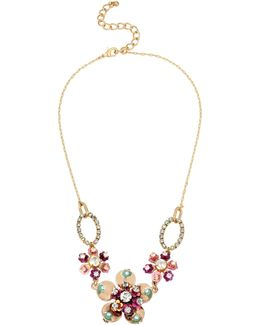 Brooklyn Multi Flower Necklace