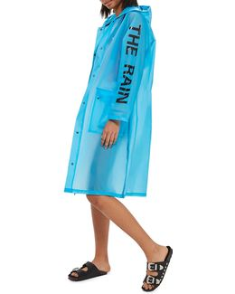 Slogan Raincoat Mac