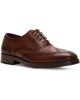 Henry Grand Short Wing Leather Oxfords
