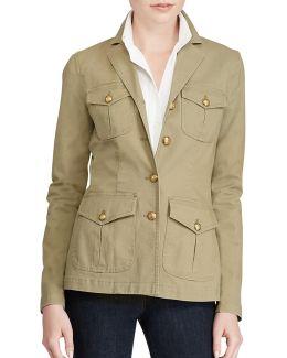 Canvas Military Jacket