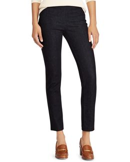 High-rise Denim Skinny Pants