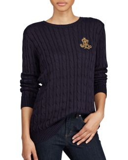 Bullion Cable-knit Sweater