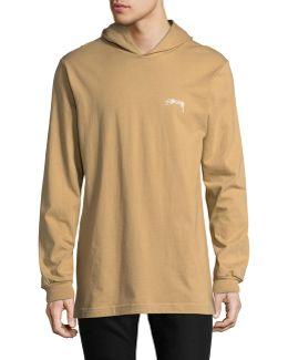 Hooded Long-sleeve T-shirt