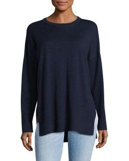 Crew Neck Boxy Sweater