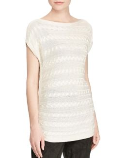 Harrie Short Sleeve Sweater