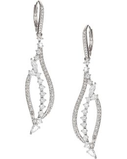 Silvertone Drop Earrings