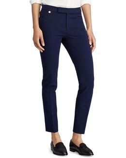 Plus Stretch Twill Mid-rise Skinny Pants