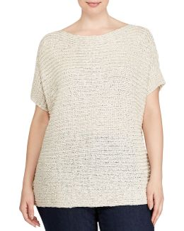 Plus Darby Short Sleeve Sweater
