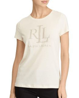 Plus Studded Jersey Tee