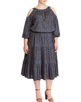 Plus Jersey Midi Dress
