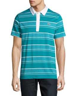 Ultra Dry Rugby Stripe Polo