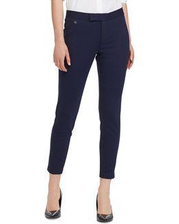 Uburto Mid-rise Straight Pants