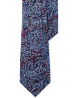 Jacquard Paisley Silk Tie