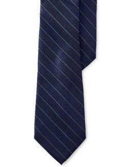 Rope Stripe Silk Tie