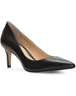 Tanela Leather Pumps