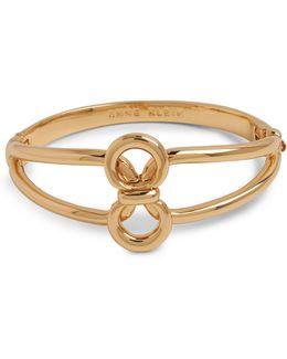 Goldtone Circular Bracelet