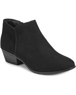 Zip Ankle Booties