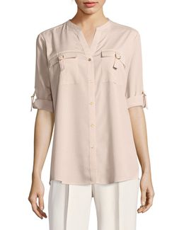 D-ring Blouse
