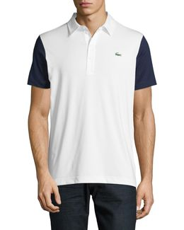 Ultra Dry Colourblock Sleeve Polo