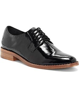 Loanna Patent Leather Oxfords