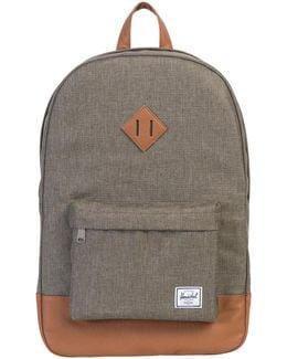 Heritage Canteen Crosshatch Backpack