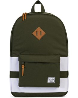 Heritage Forest Night Rugby Stripe Backpack