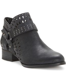 Calley Leather Booties