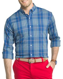Advantage Plaid Poplin Shirt