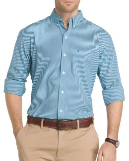 Advantage Bengal Striped Poplin Shirt