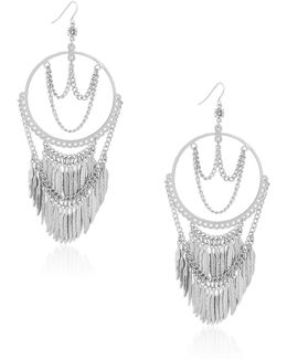 Fringe Drop Earrings