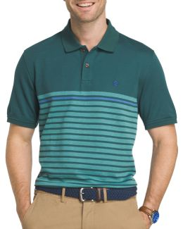 Engineered Stripe Polo