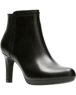 Adriel Sadie Leather Booties