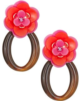 Rosy Posies Link Earrings