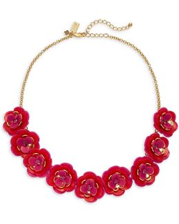 Rosy Posies Petal Necklace