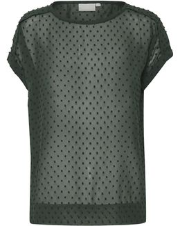Melrose Dotted Blouse
