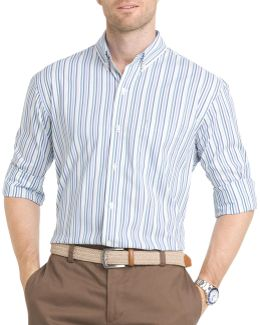 Regular-fit Poplin Striped Shirt
