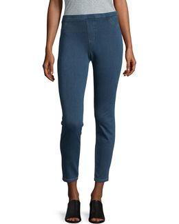 Twill Jeggings