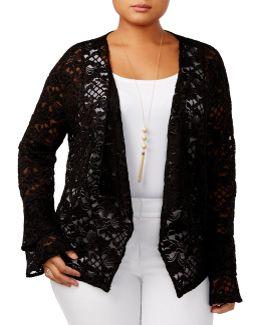 Plus Lace Jacket